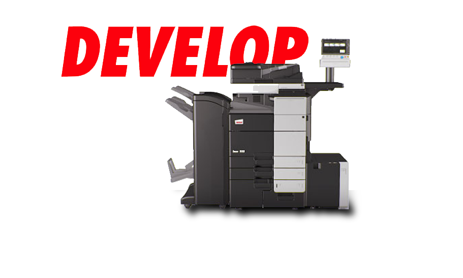 Develop scan print and copy maching with logo