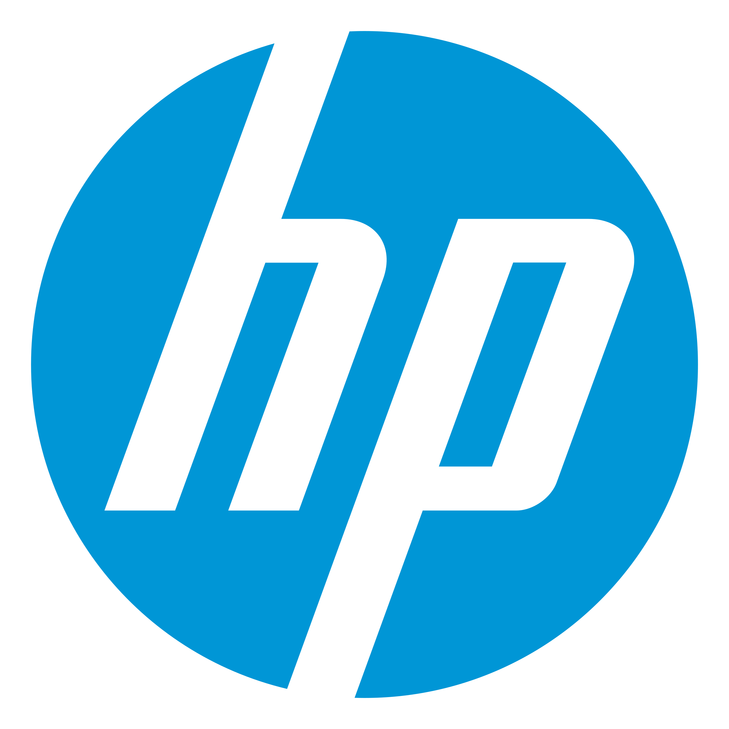Hewlett Packard HP logo