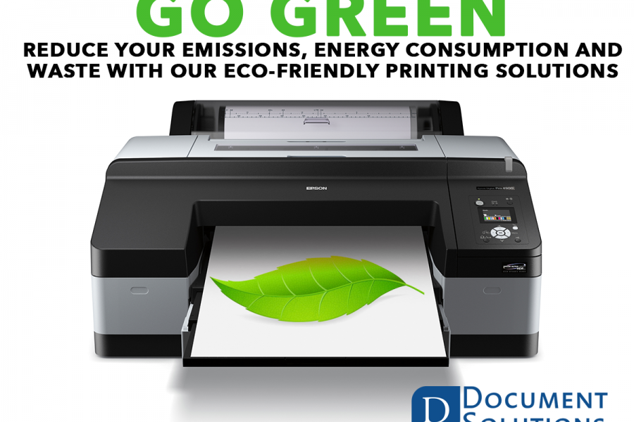 Go Green With Document Solutions